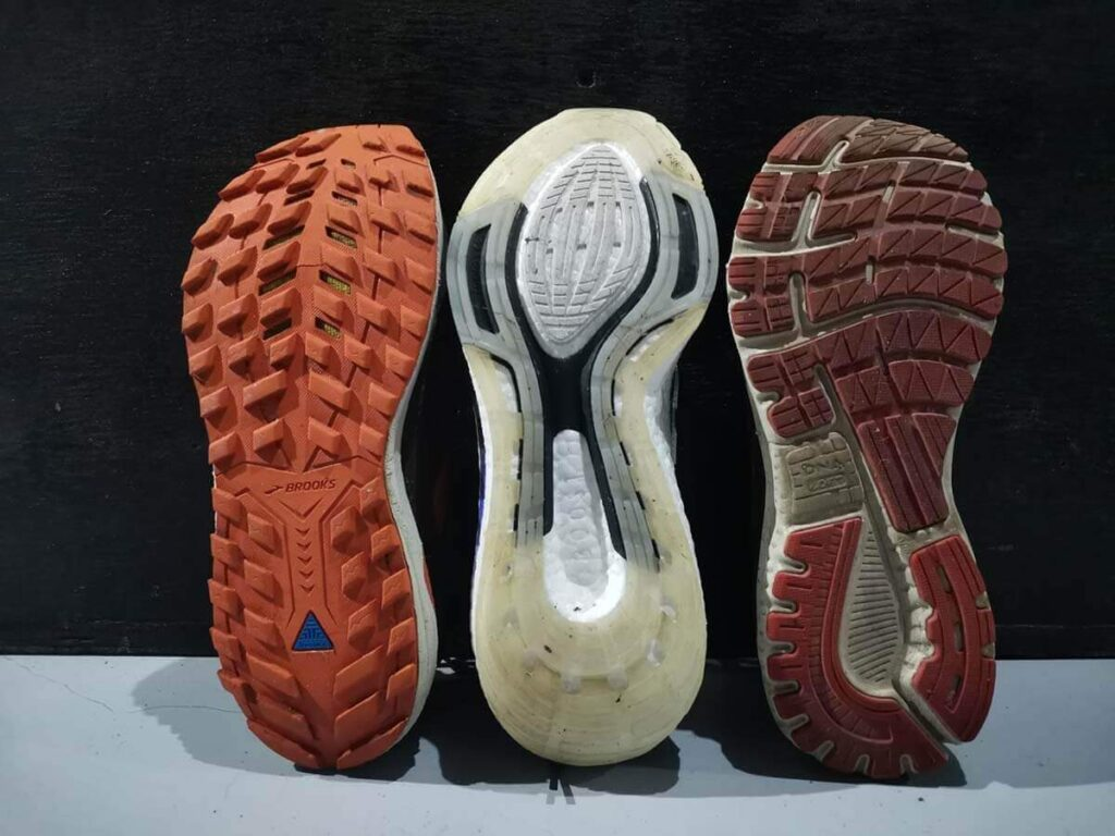Trail running shoes vs road running shoes